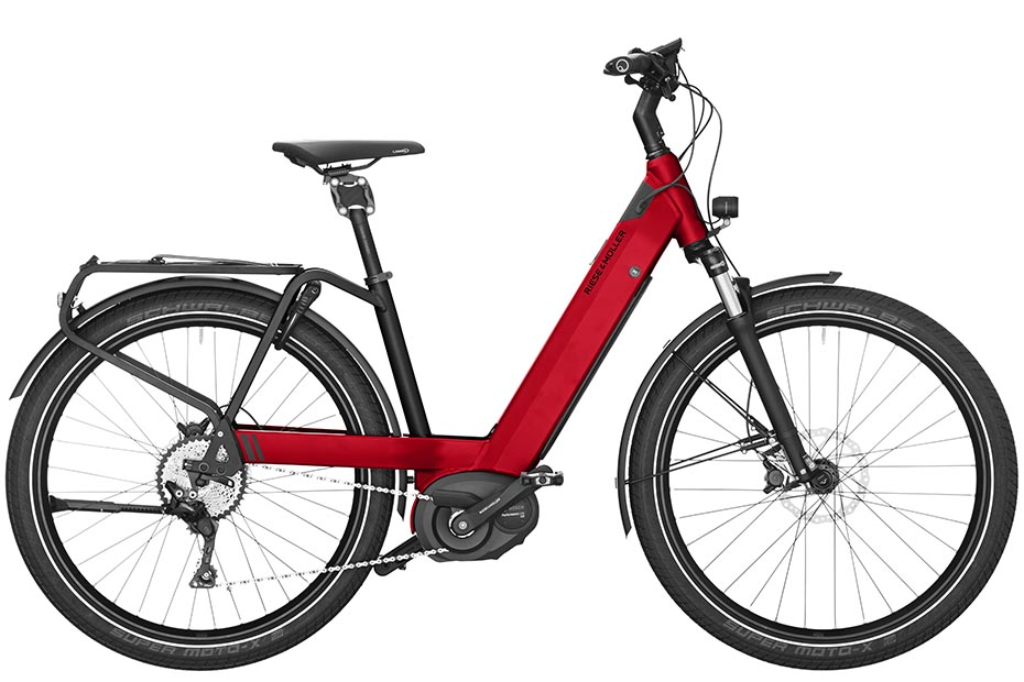 Riese & Müller Nevo Touring 2019 electric red metallic