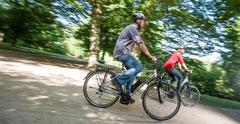 Reichweite von einem e-Bike: Die Tretunterstützung ist ein wichtiger Faktor