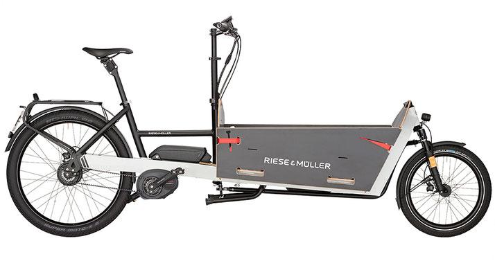 Riese & Müller Packster 80 Vario / Packster 80 Vario HS 2019 - light grey