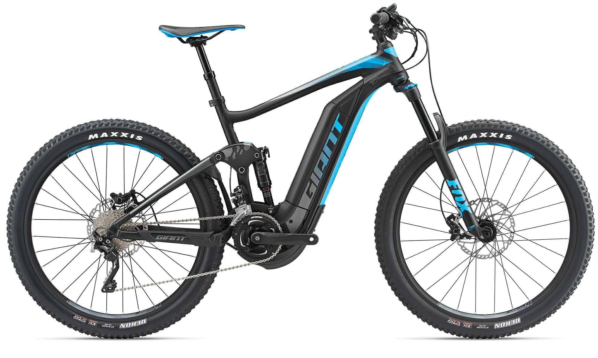 Giant Full-E+ 1.5 Pro - e-Mountainbike 2018 - blau