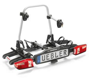 Fahrradheckträger Uebler X21 S     (zum Transport von 2 e-Bikes)