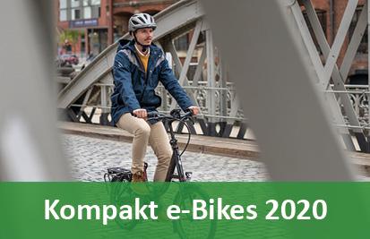 Klapp - und Kompakt e-Bikes - 2018
