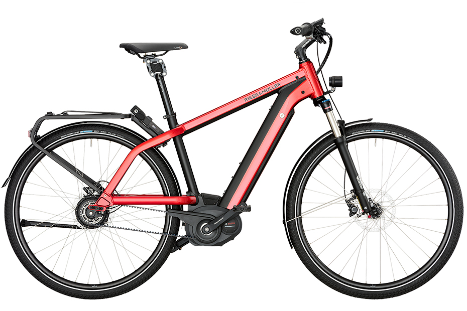 Riese & Müller New Charger Touring HS 2018 - rot