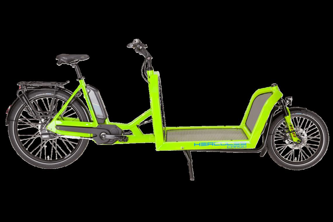 Hercules Cargo 1000 - Lasten e-Bike 2019 in grün