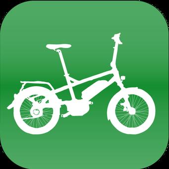 Klapp und Falt e-bike