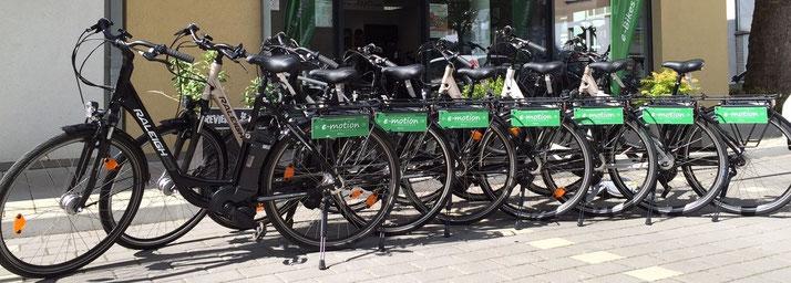 e-Bike Verleih - e-Bikes mieten ab 25,-€ / Tag