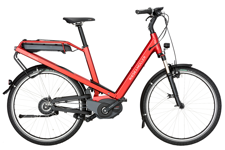 Riese & Müller Culture Vario 2019 - electric red metallic