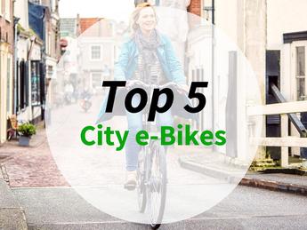 Top 5 City e-Bikes