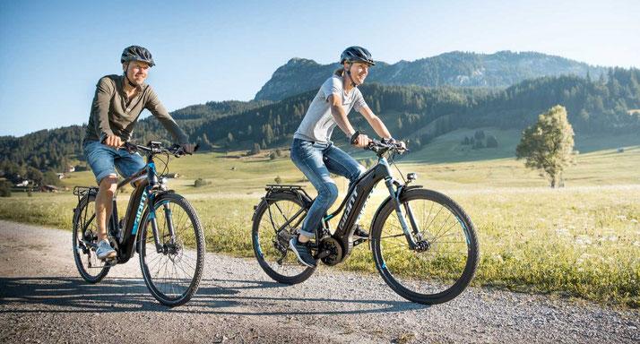 e-Bike Typen - 2019