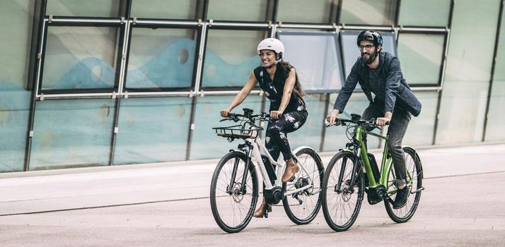 e-Bikes von Riese & Müller