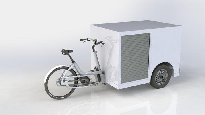 Urban Arrow Tender 1500 Flatbed - Lasten e-Bike - 2019
