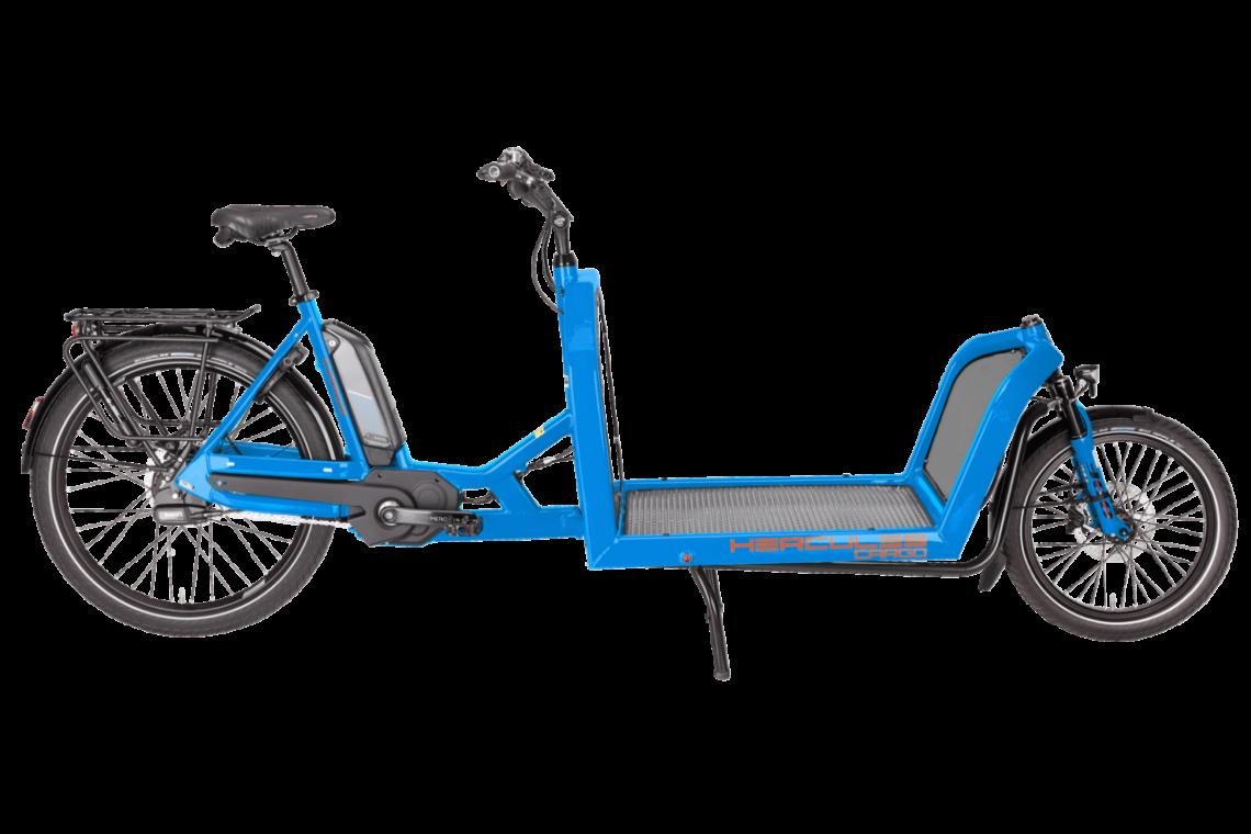 Hercules Cargo 1000 - Lasten e-Bike 2019 in blau