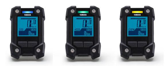 Das Yamaha PW-X LCD Display
