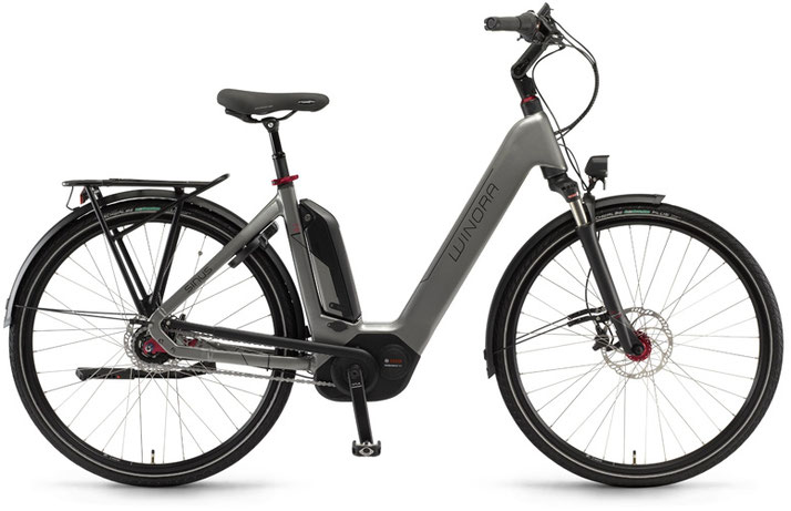 Winora Sinus Ena N8f - City e-Bike / XXL e-Bike - 2018