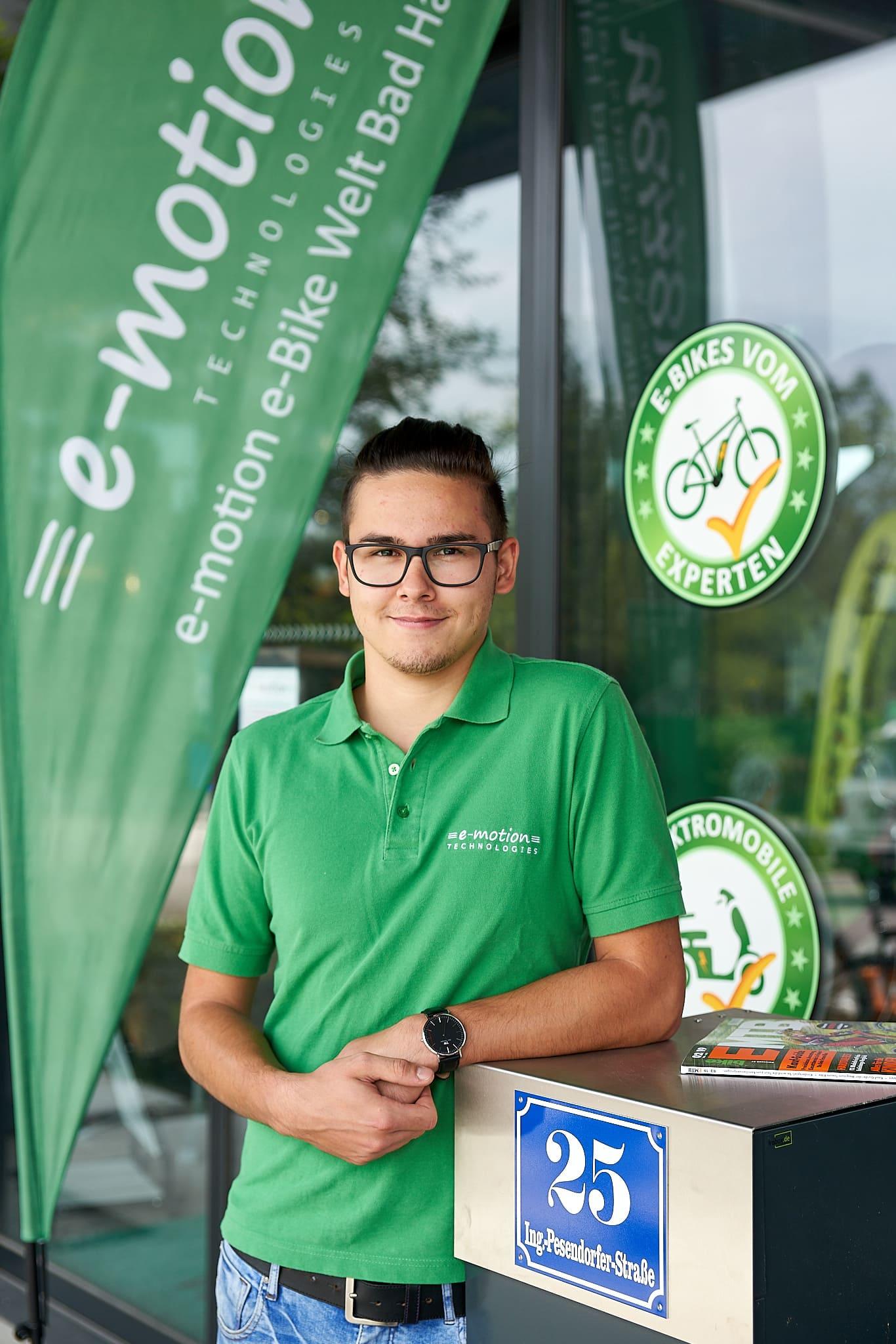 e-motion e-Bike Experte Daniel in Bad Hall in Oberösterreich