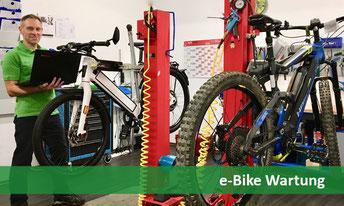 e-Bike Wartung und Reparatur