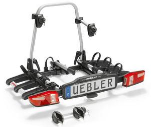 Fahrradheckträger Uebler X21 S     (zum Transport von 3 e-Bikes)
