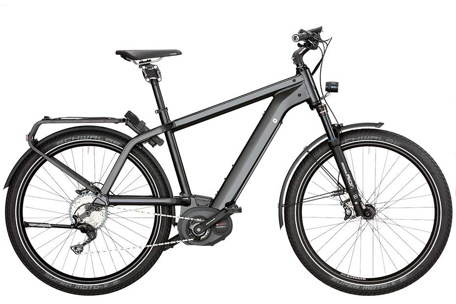 Riese & Müller New Charger GT Nuvinci HS 2018 - schwarz