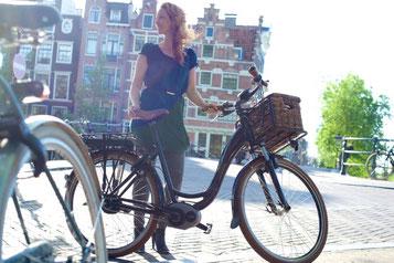 Damen e-Bikes für die Stadt