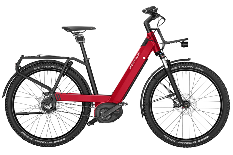Riese & Müller NEVO GX Rohloff - 2019 electric red metallic
