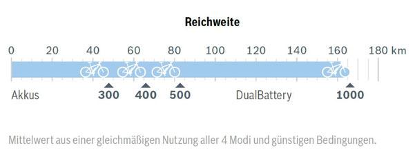 Der Bosch Active Line Plus e-Bike Motor eignet sich auch für längere Touren