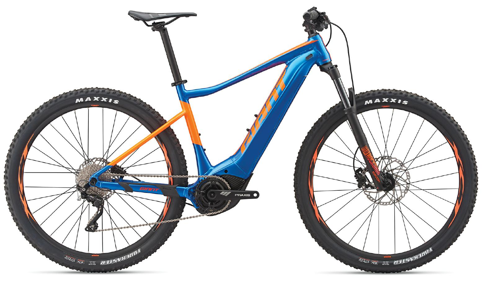 Giant Fathom E+ - blau - e-Mountainbike - 2019