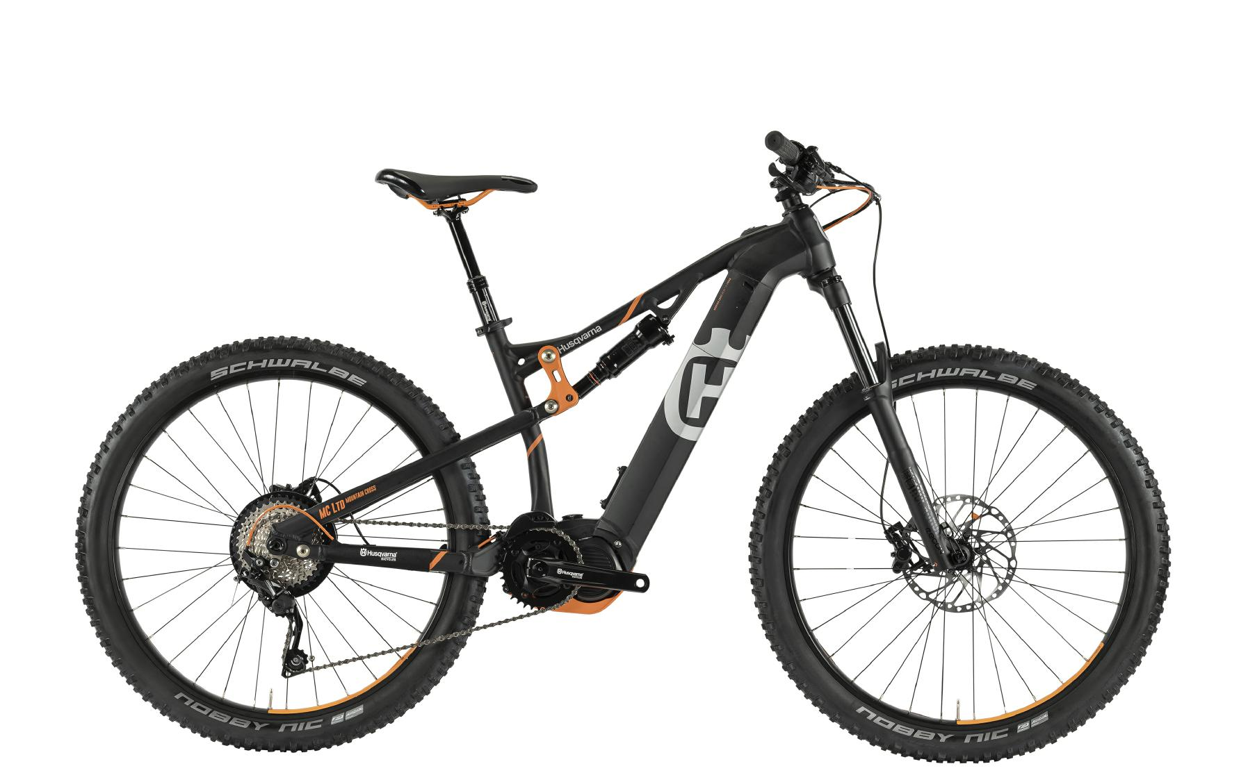 Husqvarna 2019 Mountain Cross Anniversary Model MC LTD - black