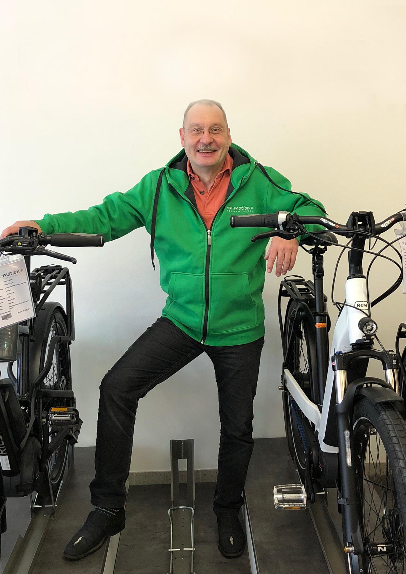 e-motion e-Bike Experte Christoph Daim in Wien, Österreich