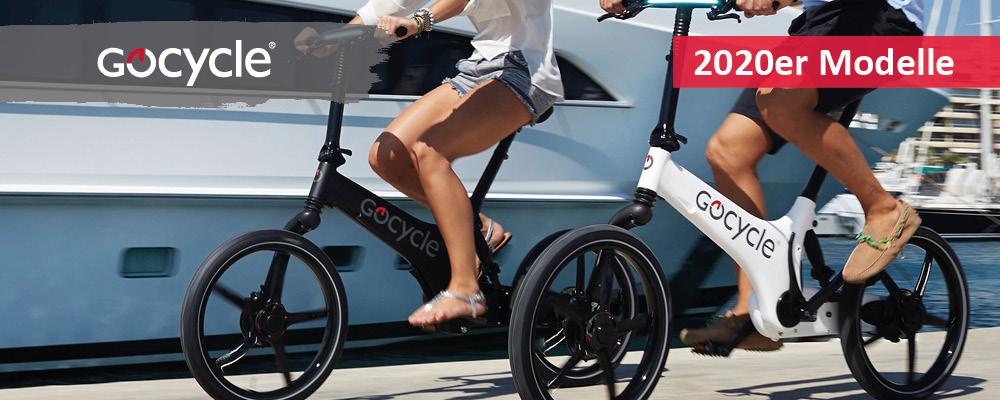 Gocycle Falt- Klapp und Kompakt e-Bike 2019 bei Ihrem e-motion e-Bike Experten Probefahren, Beratung und kaufen