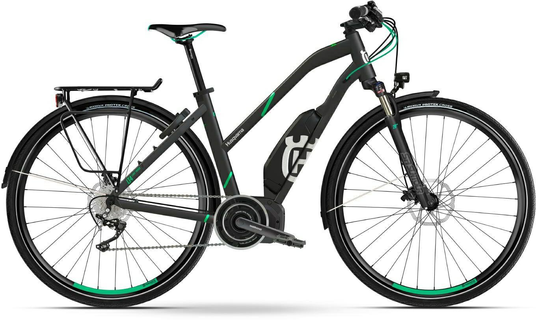 Husqvarna Light Tourer LT2 Trekking e-Bike, Touren Pedelec 2018 grau/blau Trapezrahmen