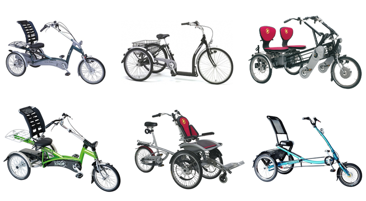 Dreiräder und Elektro-Dreiräder für Erwachsene, Senioren und Menschen mit Behinderungen - Dreirad Zentrum Österreich