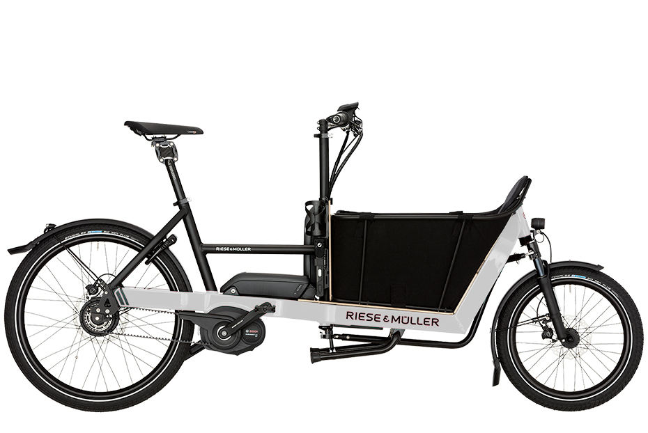 Riese & Müller Packster 40 Nuvinci 2019 - weiß
