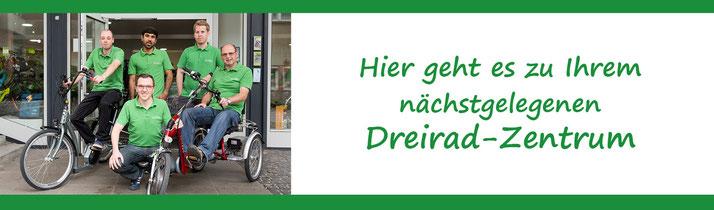 Zu den Dreirad Experten von e-motion Technologies Dreirad-Zetrum in Österreich