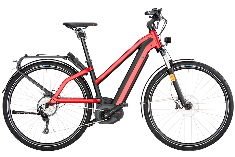 Riese & Müller New Charger Mixte Nuvincin 2018 - rot