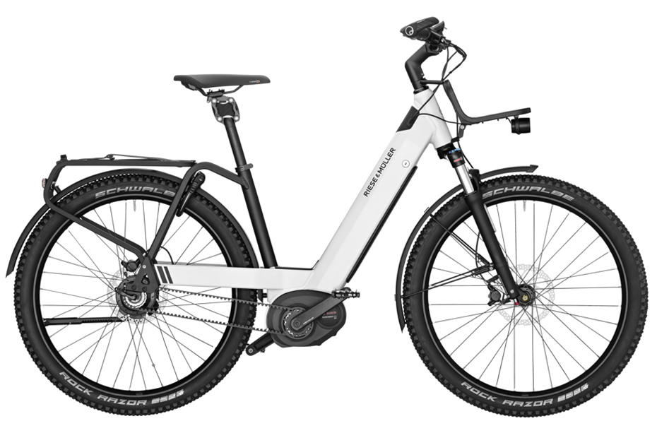 Riese & Müller Nevo GX Rohloff - 2019 pure white