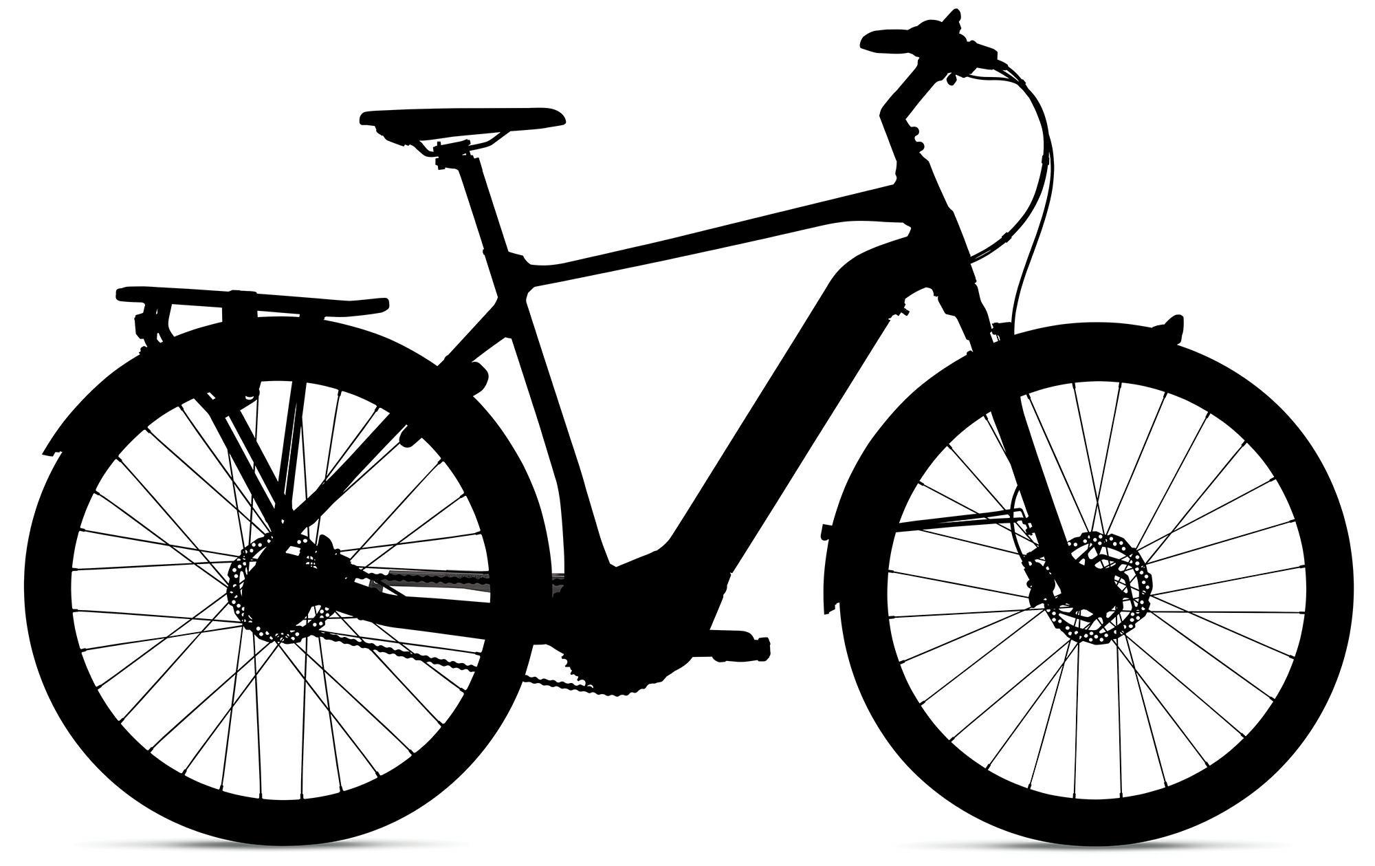 Giant Dailytour E+ 1 - GTS - Trekking e-Bike - 2019