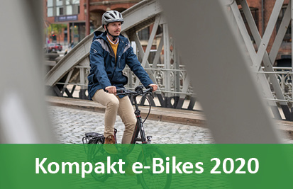 Klapp, Falt und Kompakt e-Bikes Pedelecs und 45km/h S-Pedelecs