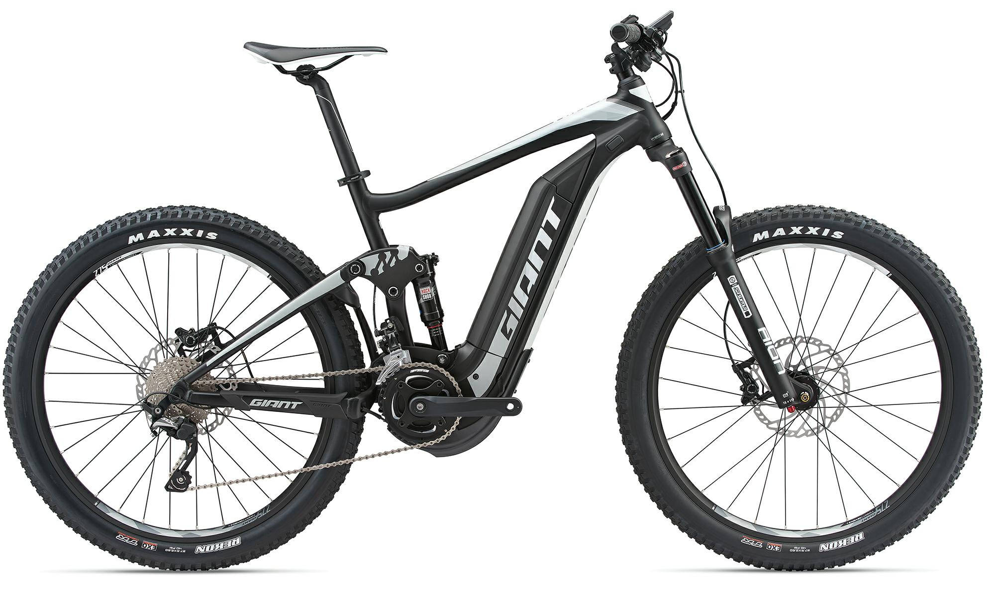 Giant Full-E+ 2 - e-Mountainbike 2018 - grau