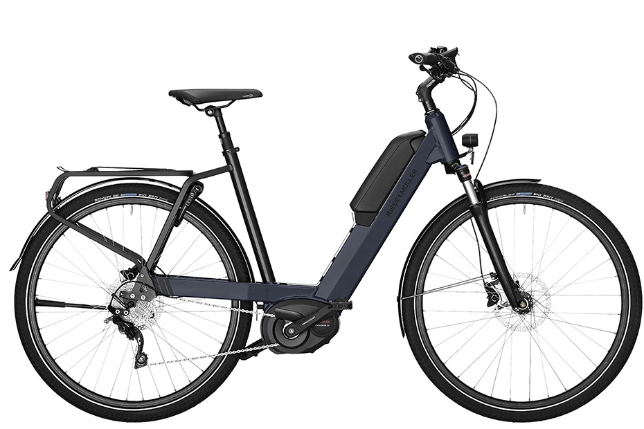 Riese & Müller Nevo Touring/ Touring HS 2019 - midnight blue metallic