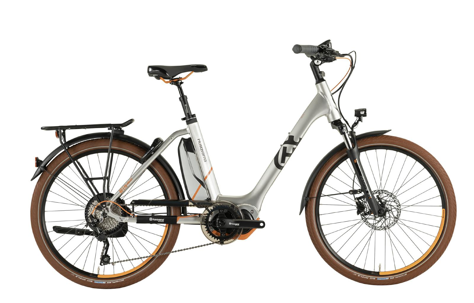 Husqvarna 2019 Gran City Anniversary Model GC LTD - silver