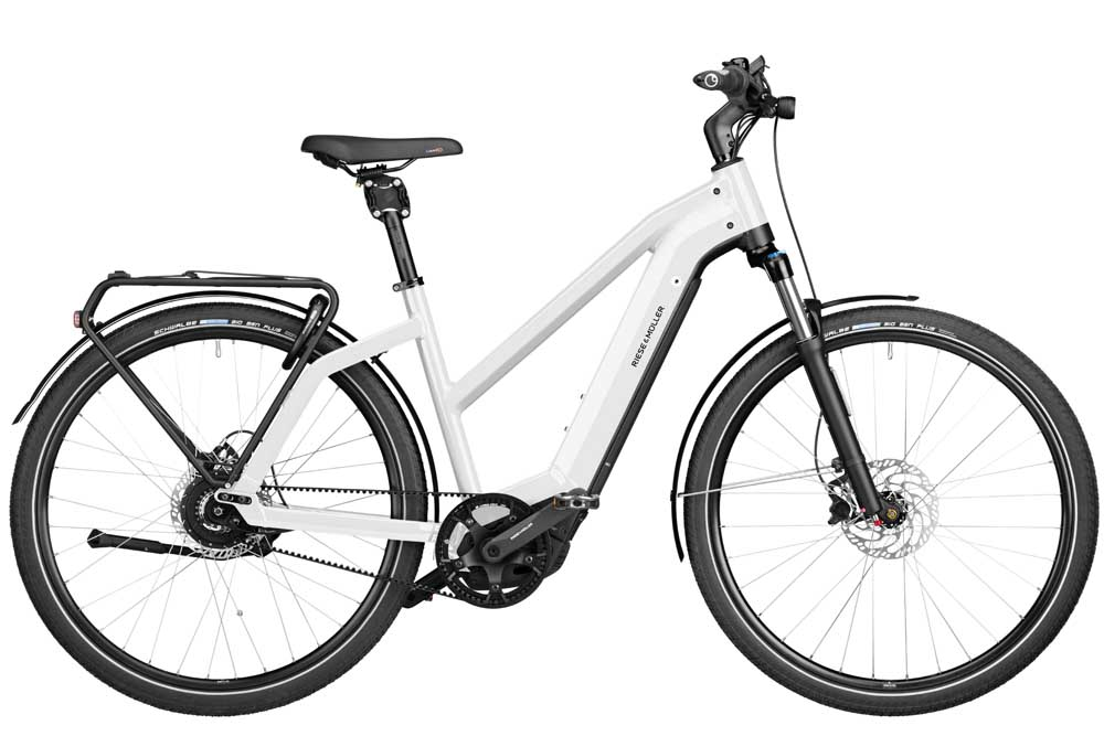 Riese & Müller Charger3 Mixte vario - ceramic white