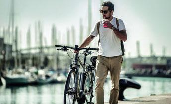 Focus e-Bikes in der e-motion e-Bike Welt in Wien