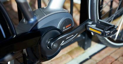 Der Bosch Performance Line Cruise e-Bike Motor wird vielfältigen Fahrsituationen gerecht