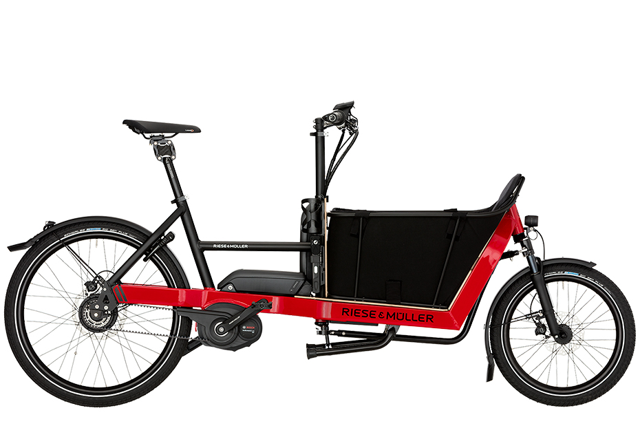 Riese & Müller Packster 40 Nuvinci 2019 - rot