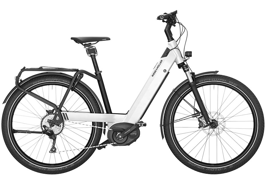 Riese & Müller Nevo Touring 2019 pearl white