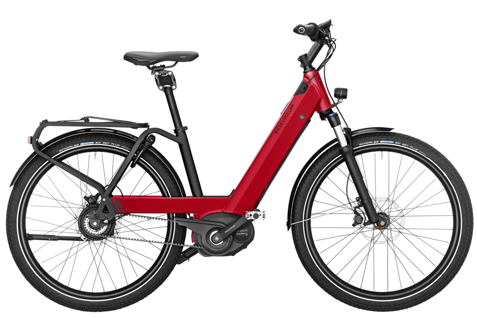 Riese & Müller Nevo GH Vario - 2019 electric red metallic