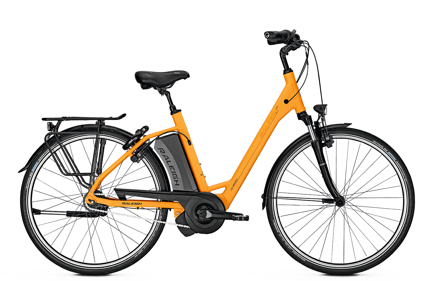 Raleigh Boston 8 - 2018 - orange