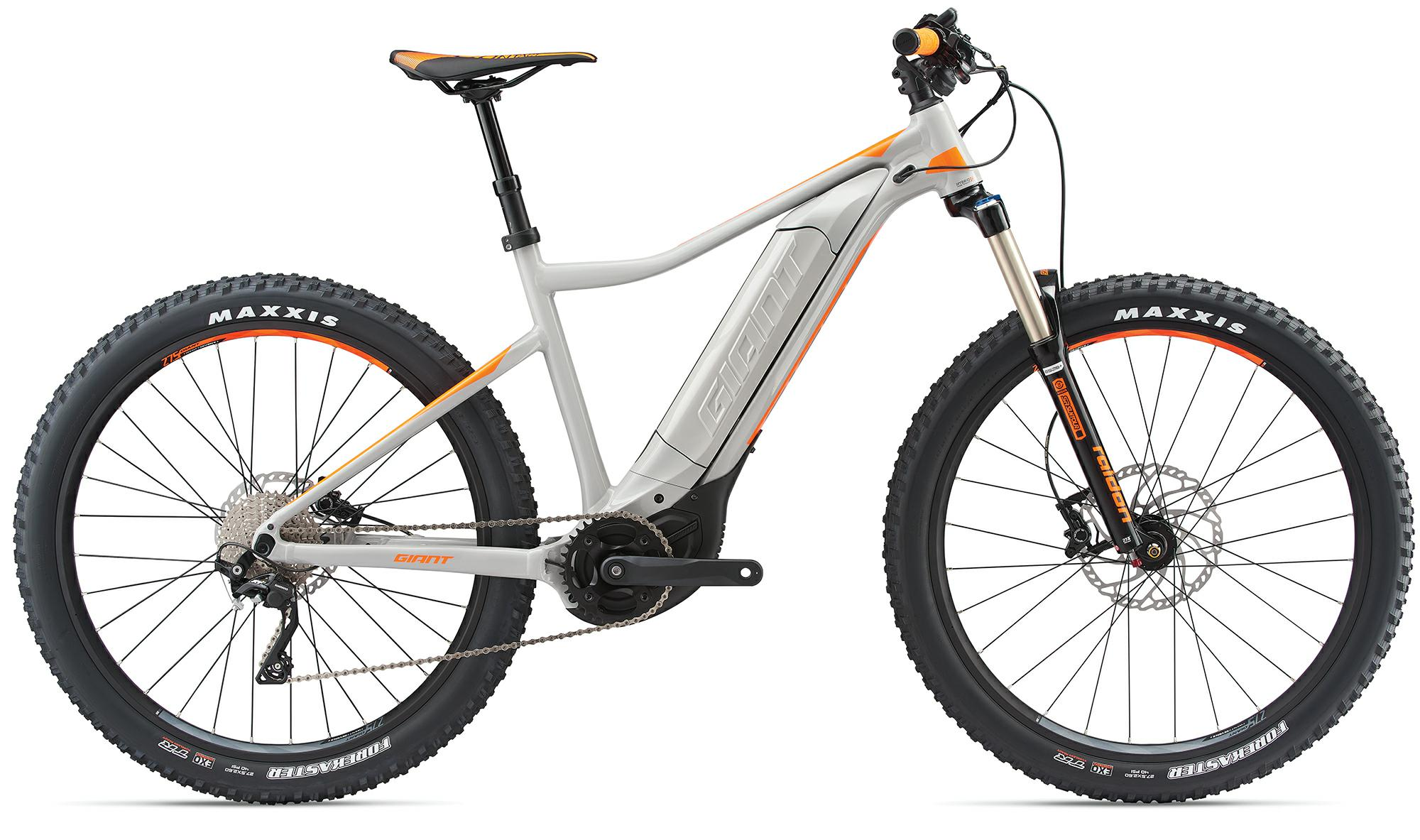 Giant Dirt-E+ 2 PRO - e-Mountainbike 2018 - silber