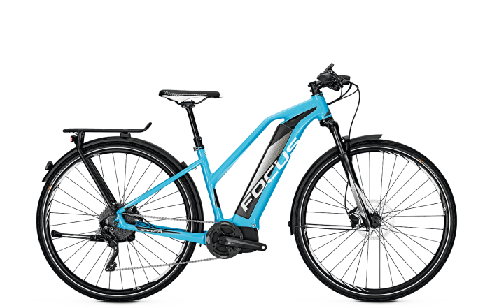Focus Jarifa Impulse Street Pro - Trekking e-Bike 2018