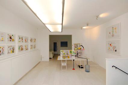 Katrin Leitner, Vilem Flusser, Installationsansicht, installation view, Kasseler Kunstverein-sheim, 2007